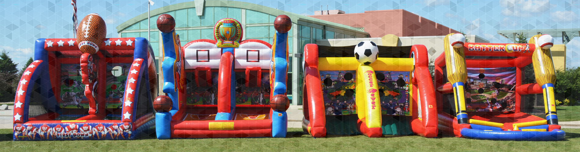 Midwest Inflatables Ames Iowa Sports Games Inflatables